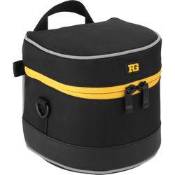 "Ruggard Lens Case 4.75 x 4.5"" (Black)"