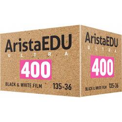 Arista EDU Ultra 400 Black and White Negative Film (35mm Roll Film, 36 Exposures)