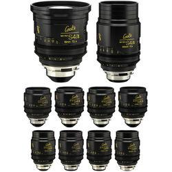 Cooke miniS4/i Cine Lens Set of Ten Lenses, 18 to 135mm (Feet)