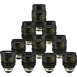 Cooke miniS4/i Cine Lens Set of Ten Lenses, 18 to 135mm (Meters)