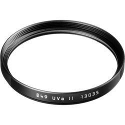 Leica E49 UVa II Filter (Black)