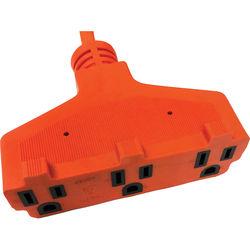 SPARK Indoor/Outdoor Power Block Extension Cord (15')