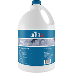 CHAUVET High-Density Fog Juice for Water-Based Fog Machines (1 Gallon)