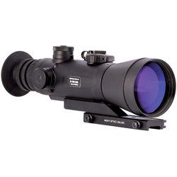Night Optics Argus 740 4x 3rd Generation White Phosphor Night Vision Riflescope (Autogated, Red-Green Mil-Dot Reticle)