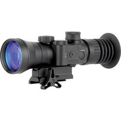 Night Optics Superlite 730 3.7x 2nd Generation White Phosphor Night Vision Riflescope (Autogated, Red-Green Mil-Dot Reticle)