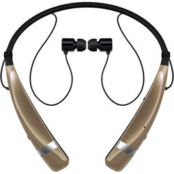 LG HBS-760 TONE PRO Bluetooth Wireless Stereo Headset (Gold)