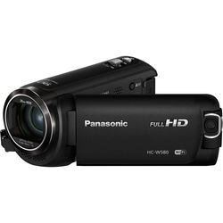 Panasonic HC-W580K Full HD Camcorder with Twin Camera