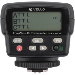 Vello FWIRC-C FreeWave IR TTL Flash Commander for Canon