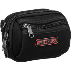 OP/TECH USA Zippeez Soft Pouch, Medium (Black)