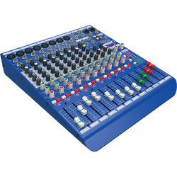 Midas DM12 12-Input Analog Live and Studio Mixer with Microphone Preamplifier