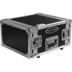 Odyssey Innovative Designs Flight Zone DNP DS40 / DS80 Photo Booth Printer Case (Black on Chrome)