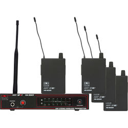 Galaxy Audio AS-900 Any Spot 4-Band Pack Wireless Personal Monitoring System (N8 Band: 531.15 MHz)