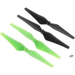 DROMIDA Prop Set for Vista UAV Quadcopter (4-Pack, Green/Black)
