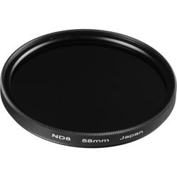 General Brand 58mm Solid Neutral Density 0.9 Filter (3 Stop)