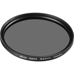 General Brand 62mm Solid Neutral Density 0.6 Filter (2 Stop)
