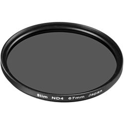General Brand 67mm Solid Neutral Density 0.6 Filter (2 Stop)
