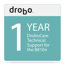 Drobo One-Year DroboCare Technical Support for Drobo B810n NAS Enclosure