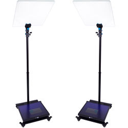 "MagiCue Stage Master Presidential Prompter Package (Pair, 19"")"