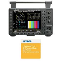"Leader 6.5"" Multi-SDI Waveform Monitor & IDX Battery Mount Kit"