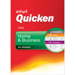 Intuit Quicken Home & Business 2016 (Boxed)
