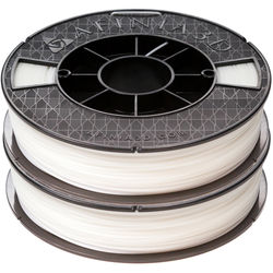 Afinia 1.75mm ABS Premium Filament 2-Pack for H-Series 3D Printers (2 x 500g, White)