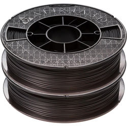 Afinia 1.75mm ABS Premium Filament 2-Pack for H-Series 3D Printers (2 x 500g, Black)