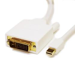Tera Grand Mini DisplayPort Male to DVI Male Cable (6', White)