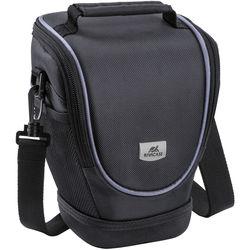 "RIVACASE 7205 Series Digital SLR Holster Bag (Black, 6.5"" Width)"