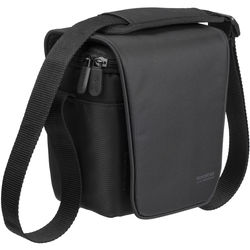 RIVACASE Digital Camera Bag for Mirrorless Camera with a Zoom Lens (Black)