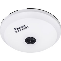 Vivotek 5MP 1.5mm Standard Fisheye Network IP Dome Camera