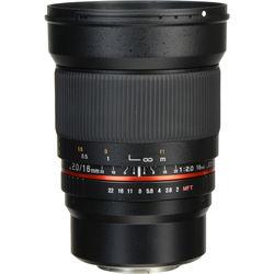 Rokinon 16mm f/2.0 ED AS UMC CS Lens for Micro Four Thirds Mount