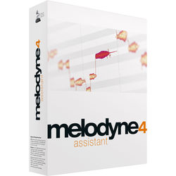 Celemony Melodyne Assistant 4 (Upgrade from Essential) - Pitch Shifting/Time Stretching Software (Download)