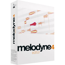 Celemony Celemony Melodyne Editor 4 - Polyphonic Pitch Shifting/Time Stretching Software (Download)