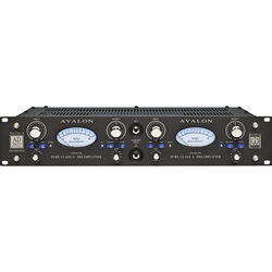 Avalon Design AD2022 Dual Mono Pure Class A Preamplifier (Black)