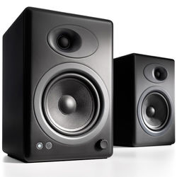 "Audioengine A5+ 5"" Active 2-Way Speakers (Pair, Black)"