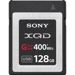 Sony 128GB G Series XQD Format Version 2 Memory Card