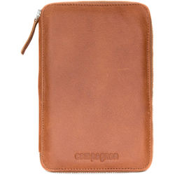 compagnon The Wallet Leather Case for Memory Cards & Small Items (Light Brown)