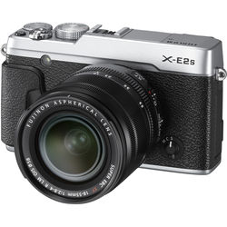 Fujifilm X-E2S Mirrorless Digital Camera with 18-55mm Lens (Silver)