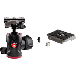 Manfrotto 494 RC2 Mini Ball Head with Quick Release and QR Plate Kit