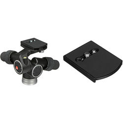 Manfrotto 405 Pro Digital Geared Head with 410PL Quick Release Plate Kit