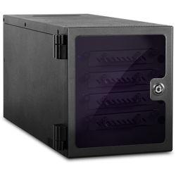 "iStarUSA 4-Bay 2.5"" SATA 6.0 Gb/s eSATA & USB 3.1 Gen 1 Hot-Swap Tower (Black)"