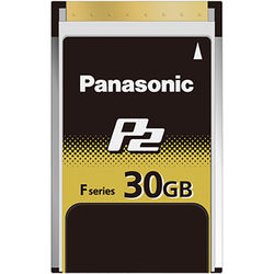 Panasonic 30GB F-Series P2 Memory Card
