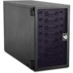 "iStarUSA 8-Bay 2.5"" SATA 6.0 Gb/s eSATA USB 3.1 Gen 1 Hotswap JBOD Tower (Black)"