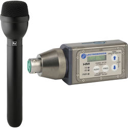 Lectrosonics HM Digital UHF Wireless Plug-On Transmitter & RE50B Mic Kit (Frequency Block 21)