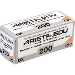 Arista EDU Ultra 200 Black and White Negative Film (120 Roll Film)