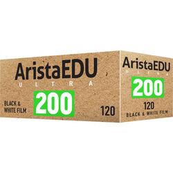 Arista EDU Ultra 200 Black and White Negative Film (120 Roll Film)