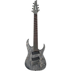Ibanez RGIF7 RG Iron Label Series 7-String Electric Guitar (Black Stained)