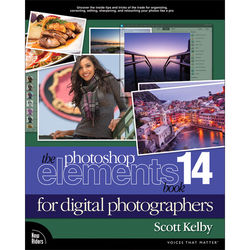 Pearson Education Pearson Education Book: The Photoshop Elements 14 Book for Digital Photographers