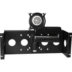"""Raxxess Articulating Rack-Monitor Mount for Monitors Up to 17"""" Wide"""