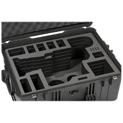 Jason Cases Hard Rolling Case for Sony FS7 Camera with 28-135mm Lens